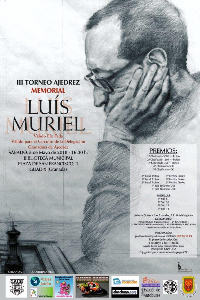 III MEMORIAL LUIS MURIEL BURGOS