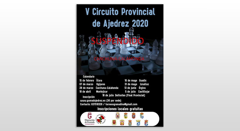 Cancelado Torneo Carchuna Calahonda