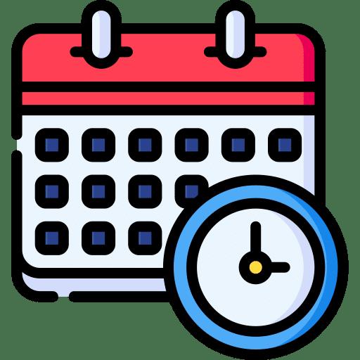 Calendario DGRA